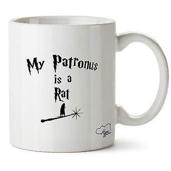 Hippowarehouse mio Patronus è un ratto stampato Mug tazza ceramica 10oz
