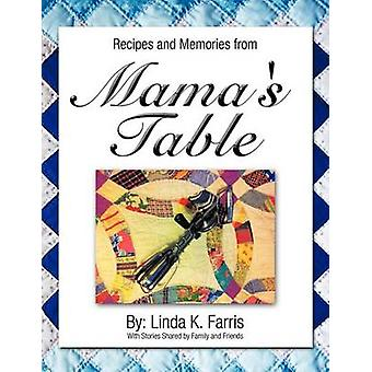 Recipes and Memories from Mamas Table by Farris & Linda K.