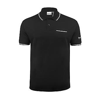 Mens polo t shirt argent vêtements comp