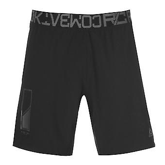 Reebok barbati Combat pantaloni scurți de performanță pantaloni pantaloni fundul ușoare zip