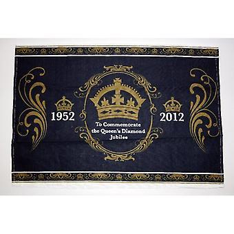 Union Jack indossare regina Diamond Jubilee strofinaccio commemorativa