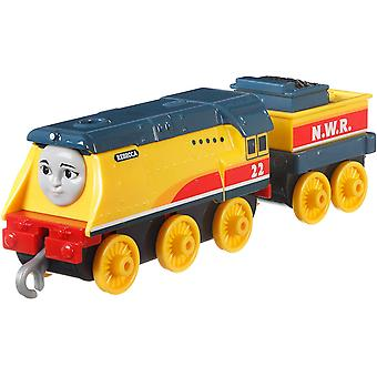 Thomas and Friends FXX27 Track Master Push Along Large Die-Cast Rebecca