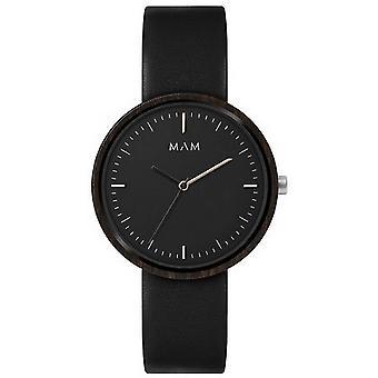 MAM Plano Watch - Black/Black