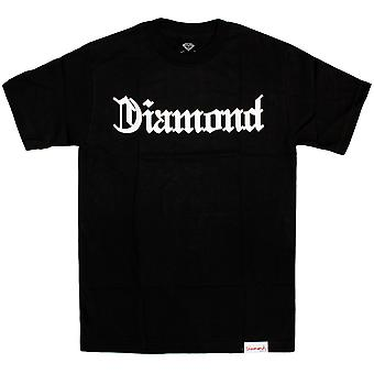 Diamond Supply Co Diamond 4 Life T-shirt Black