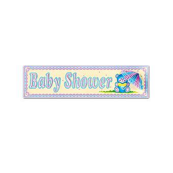 Baby Shower signe tissu parasol
