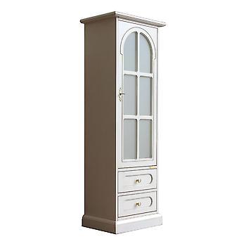 Gabinete y cajones lacados de un solo panel