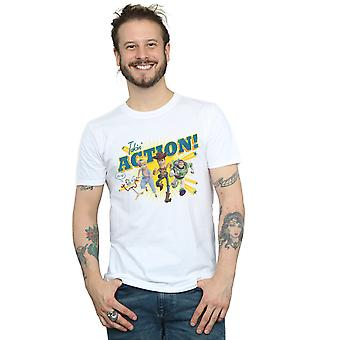 Disney Men's Toy Story 4 Takin' Action T-Shirt