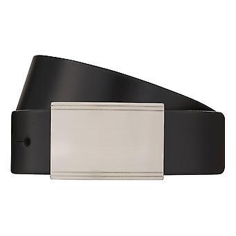 MONTI POTSDAM Belt Men's Belt Leather Belt Black 8027
