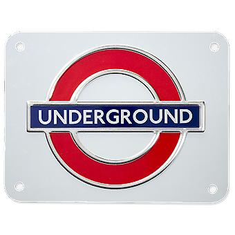 Tfl™3102 licensed underground™ metal sign medium size