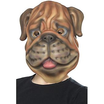 Dog Mask, Brown, EVA