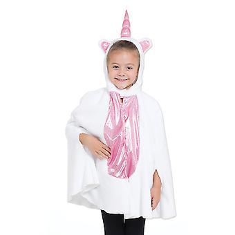 Bristol Novelty Girls Unicorn Hooded Poncho