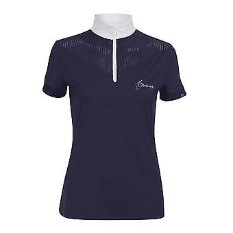 LeMieux Lemieux min Lemieux Adrina Womens show shirt-Marinblå
