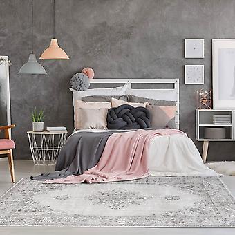 KHAYMA Fairfield 8668 Rectangle gris pâle tapis tapis modernes
