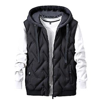 Allthemen Men-apos;s Veste rembourrée ÉpaissitWarm Hooded Winter Waistcoat