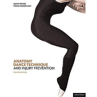Danstechniek, voorkoming van letsel en verzorging van de danser
