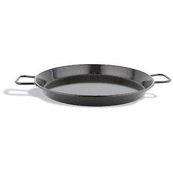 Pujadas Enamelled Steel Paella Pan 10 Cm (Kitchen , Household , Woks and Paelleras)