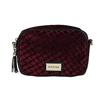 For Time Bandolera Yan - Women Red Shoulder Bags (Burdeos) 6x14x18 cm (W x H L)