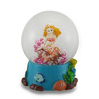Childrens Colorful Mermaid Water Globe
