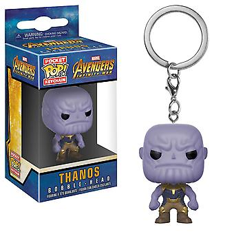 Avengers infinity War Thanos Funko Pocket Pop avaimen perä
