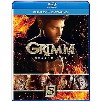Grimm: Season Five [Blu-ray] USA import