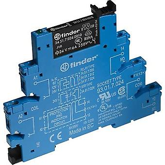 Finder 38.51.7.012.5050 - 6A Relay Interface Module, EMR, SPDT-CO 250V AC