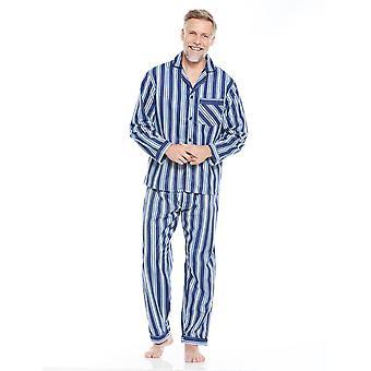 Tootal Mens Bomull Pyjamas Stripete