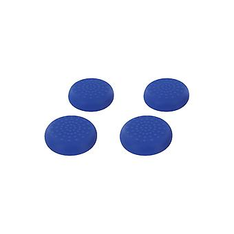 Tpu thumb grip stick caps for nintendo switch pro controller - 4 pack blue