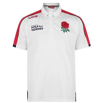 Vx-3 Mens Gents Help For Heroes England Polo Lightweight Shirt Sports Top
