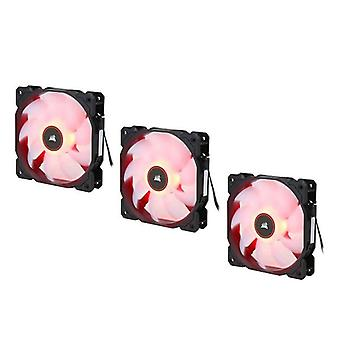 Corsair Air Flow 120mm Cooling Fans Red Three Pack