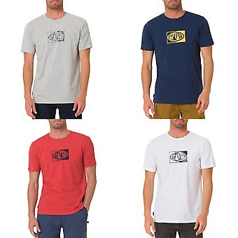 Animal Mens Claw Logo Graphic Casual Cotton Crew Neck Short Sleeve T-Shirt Top