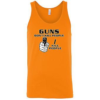 Men's Guns Don't Kill People I Kill People Tank Top