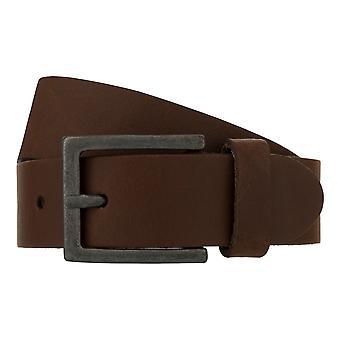 Teal Belt Men's Belt Leather Belt Jeans Belt Brown 8268
