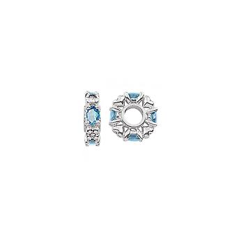 Storywheels Décembre Birthstone Silver Wheel Charm S348SW