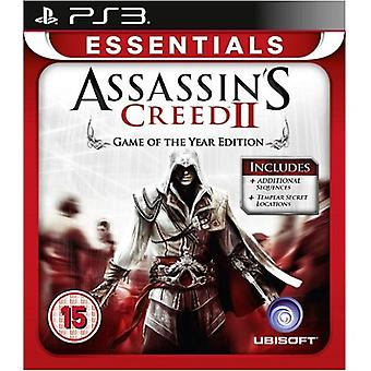 Assassins Creed 2 GOTY Edition Essentials PS3 Game