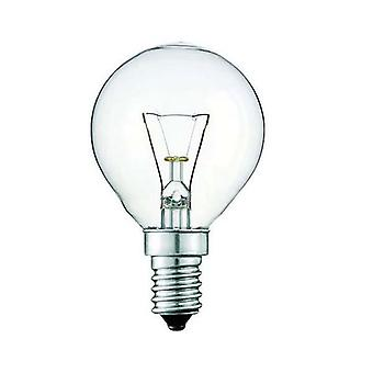 10X Light Bulb E14S 40W Clear Fancy Round Ses Lamp