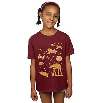 Star Wars Girls Gingerbread Battle T-Shirt