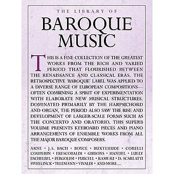 The Library Of Baroque Music by Edited by Sam Lung