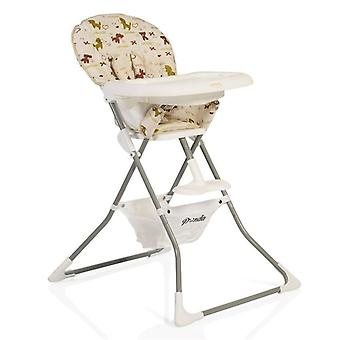 High chair panda, table adjustable, foldable, 5-point seat belt, compact