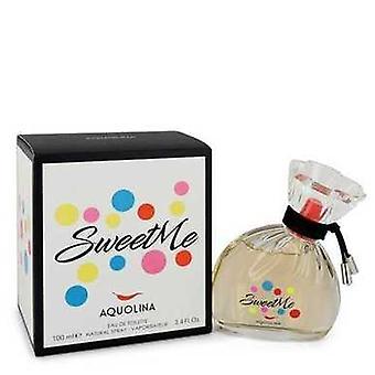 Sweet Me By Aquolina Eau De Toilette Spray 3.4 Oz (women) V728-547236