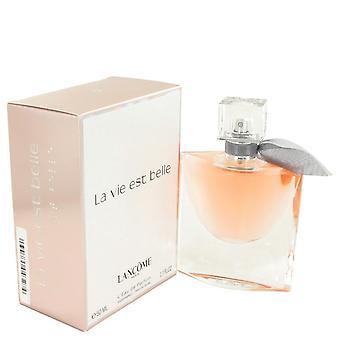 La Vie Est Belle Eau De Parfum Spray By Lancome   497824 50 ml