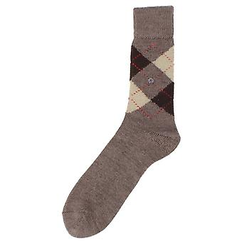 Burlington Chaussettes Preston - marron / sable