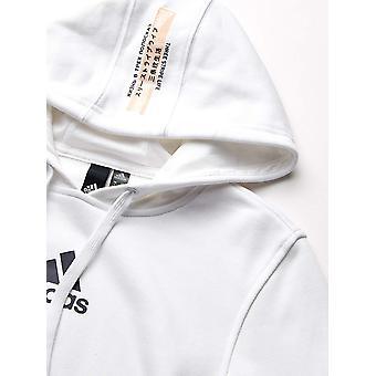 Adidas vrouwen ' s wereldburgers bijgesneden hoodie, wit, maat Small
