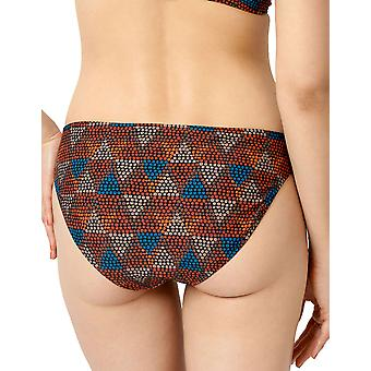 Miss Sans Complexe 68XAF03 Zanzibar Ethnic Print Black Bikini Bottom