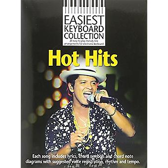 Easiest Keyboard Collection - Hot Hits - 9781783059461 Book