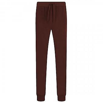 Emporio Armani Underwear Burgundy Loungewear Bottoms 111690 9A566