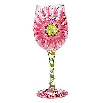 Lolita mamás aman en la copa de vino Bloom