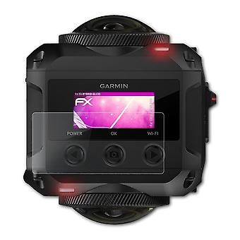 atFoliX Glass Protector compatible with Garmin Virb 360 Glass Protective Film 9H Hybrid-Glass