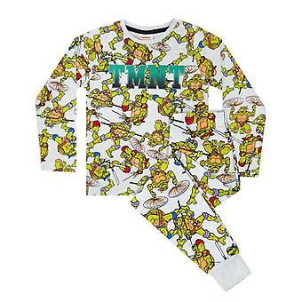 Teenage Mutant Ninja Turtles All Over Print Boy&s Kids Piżamy Set
