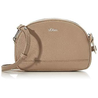 s.Oliver (Bags) 39,001.94.3601 Women's Pockets Brown shoulder bag (Brown) 5x14x21.5 Centimeters (B x H x T)
