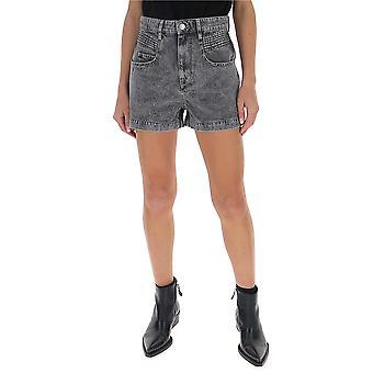 Isabel Marant ÉToile 20psh028720p017e02gy Women's Grey Cotton Shorts